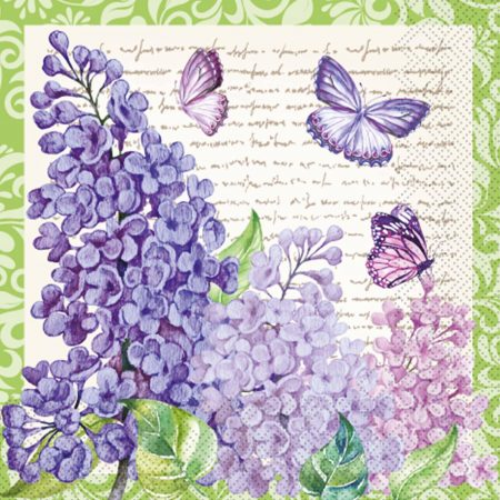Бузок з метеликами